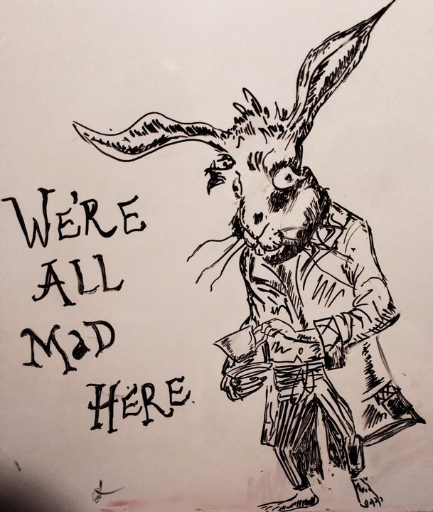 The white rabbit - Mad Artistry