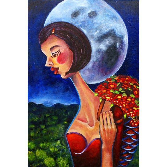 The flower seller - Claudia Hernandez
