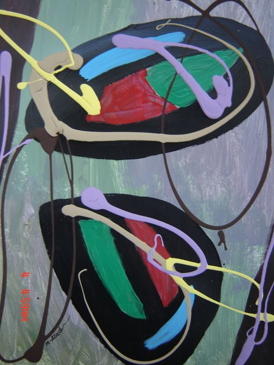 abstract painting - azad Art