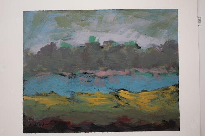 land scape - azad Art