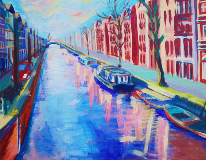 Amsterdam at High Noon - Jacob Baysden