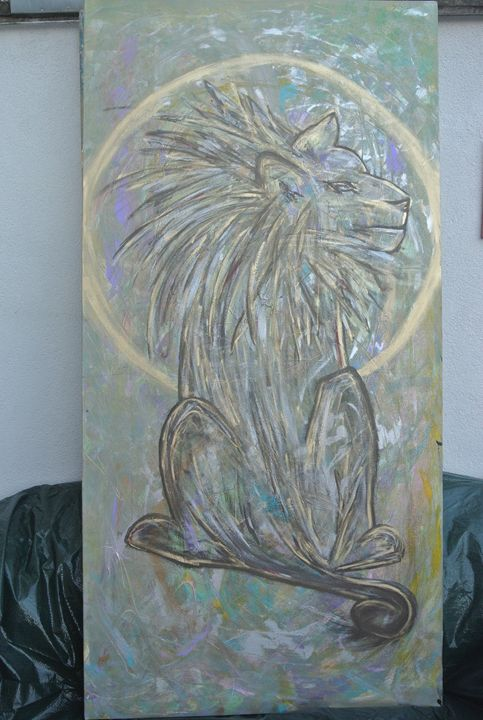 Sun in the Lion - Art Aeon Leon