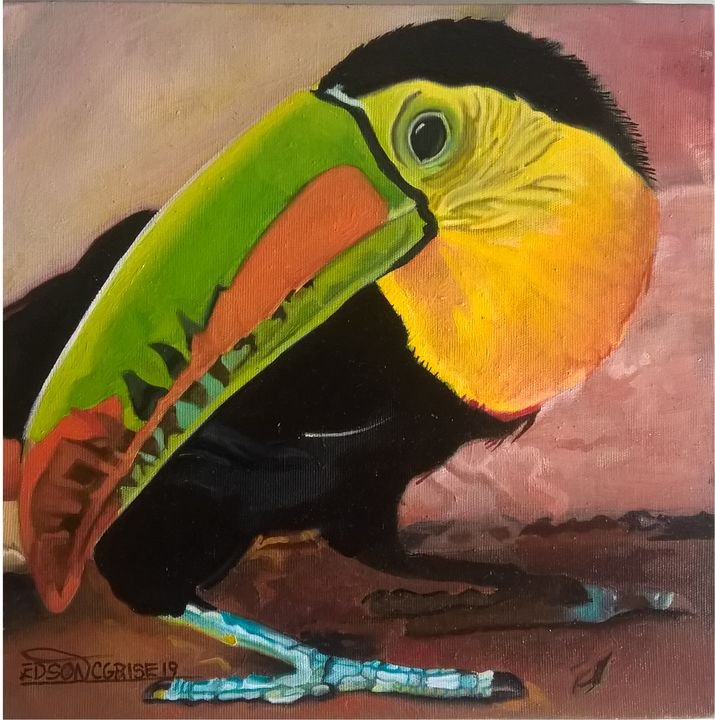 RAINBOW TUCAN. - edsoncgrise