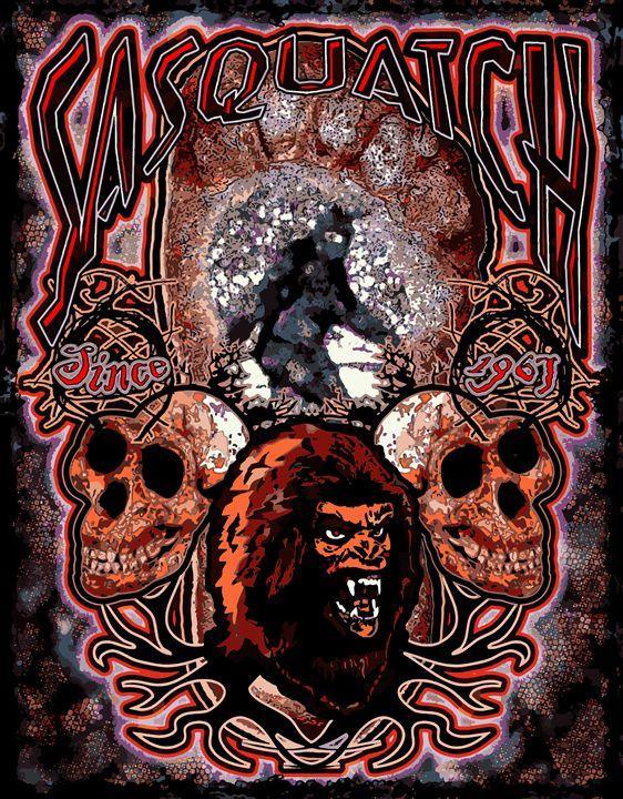 Sasquatch, AKA Bigfoot the Legend - John Jones