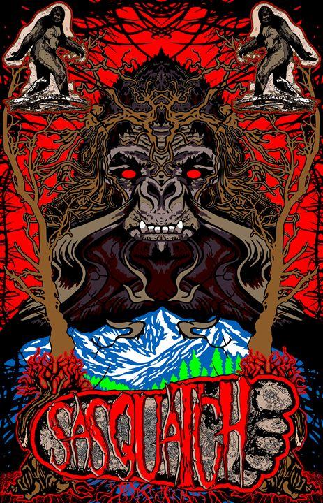 Sasquatch Bigfoot - John Jones