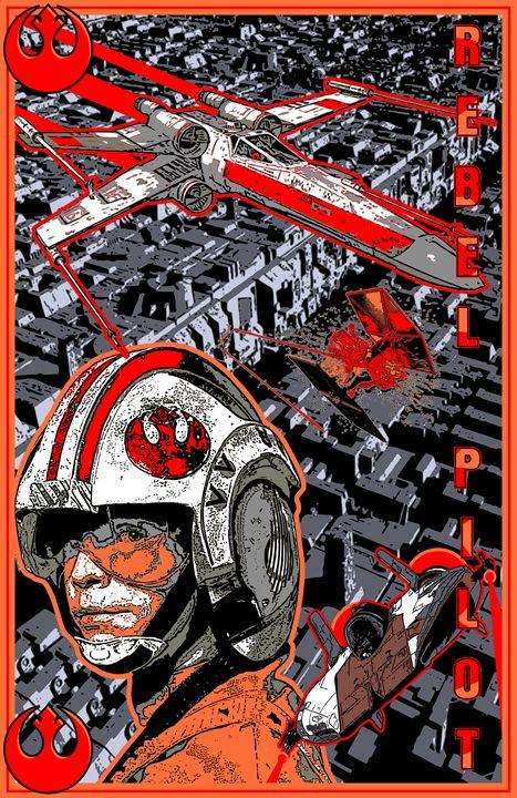 Star Wars Rebel Pilot - John Jones
