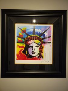 Liberty Head II, by Peter Max