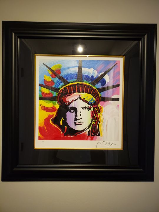 Liberty Head II, by Peter Max - Derek's Gallery
