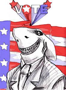 Land Shark runs for President
