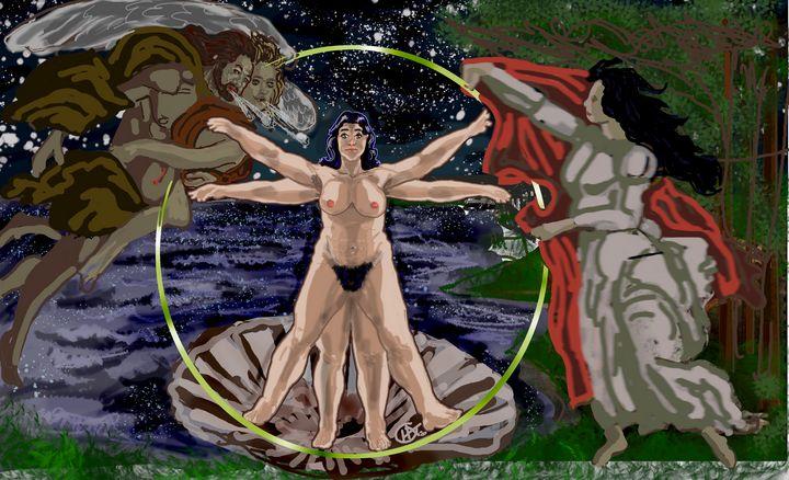 Vitruvian Venus! - Jamison Challeen