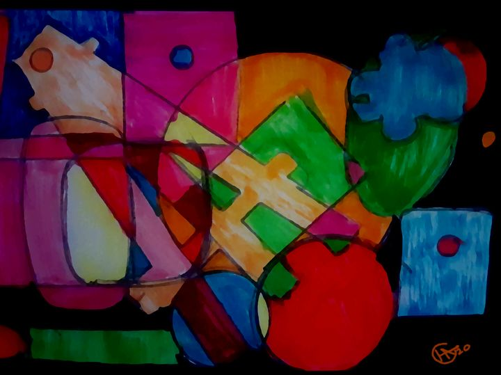 Shapes from my desk! - Jamison Challeen