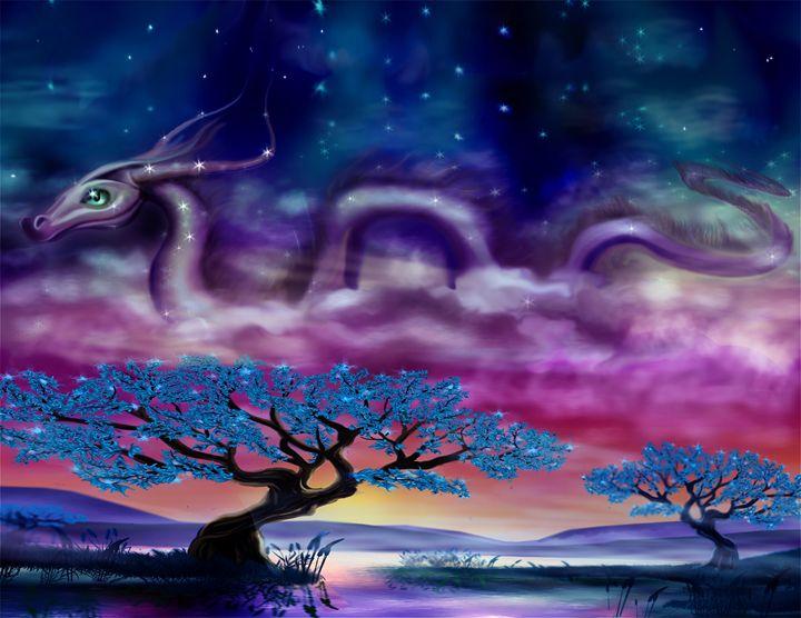 Soaring into space on cloud nine. - Rebecca Ra