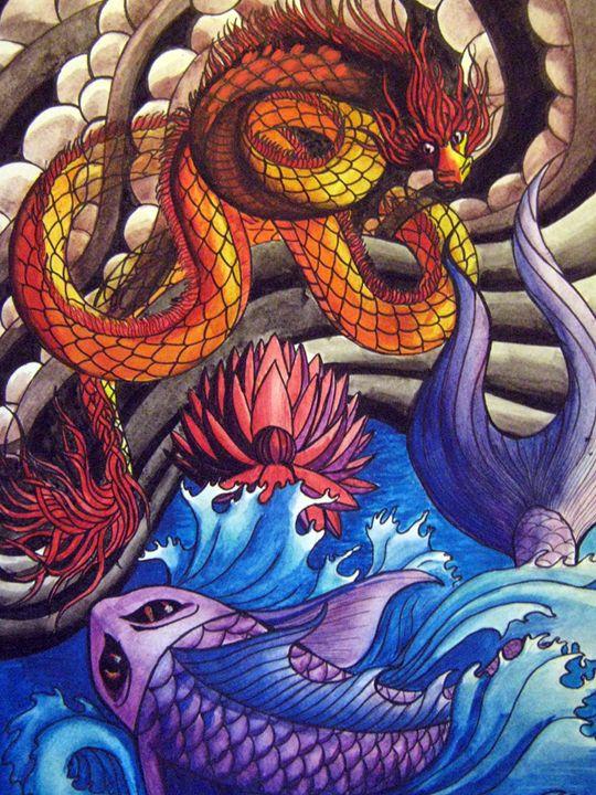 "The dragon was ""Koi"" - Rebecca Ra"
