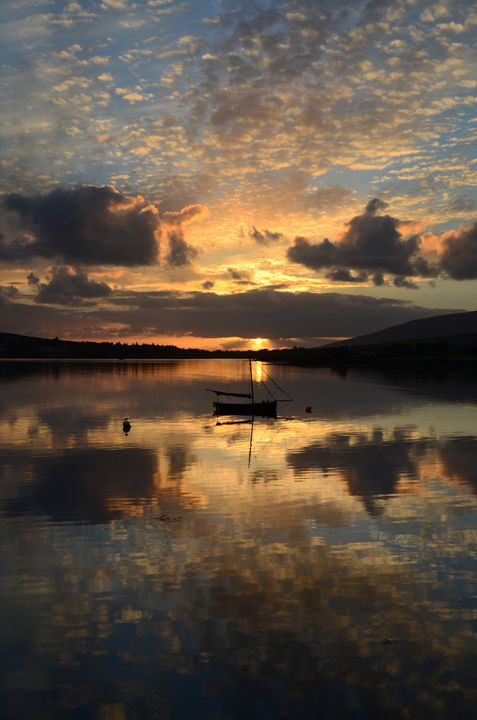 Dingle Sunset - Barbara Walsh Photography