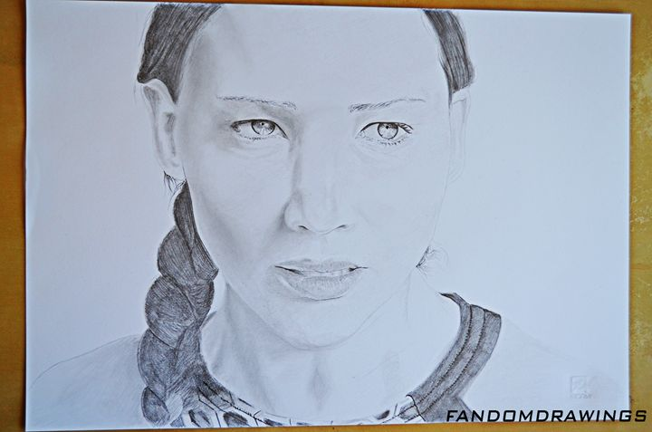 Katniss Everdeen Catching Fire - Fandom Drawings