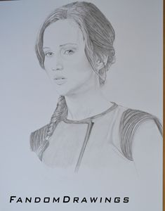 Katniss Everdeen Portrait