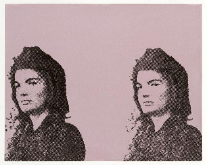 """Andy Warhol """"Jackie II"""" - 1965 - Windsor Gallery"""