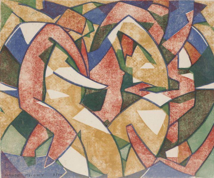"""Claude Flight """"Summer"""" c.1926 - Windsor Gallery"""