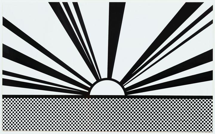 Roy Lichtenstein - Landscape 4 - Windsor Gallery