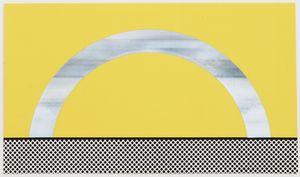 Roy Lichtenstein - Landscape 7