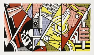Roy Lichtenstein - Peace Through