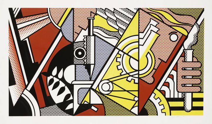 Roy Lichtenstein - Peace Through - Windsor Gallery