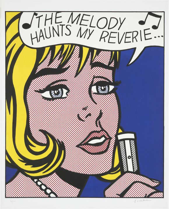 Roy Lichtenstein - Reverie from 11 - Windsor Gallery