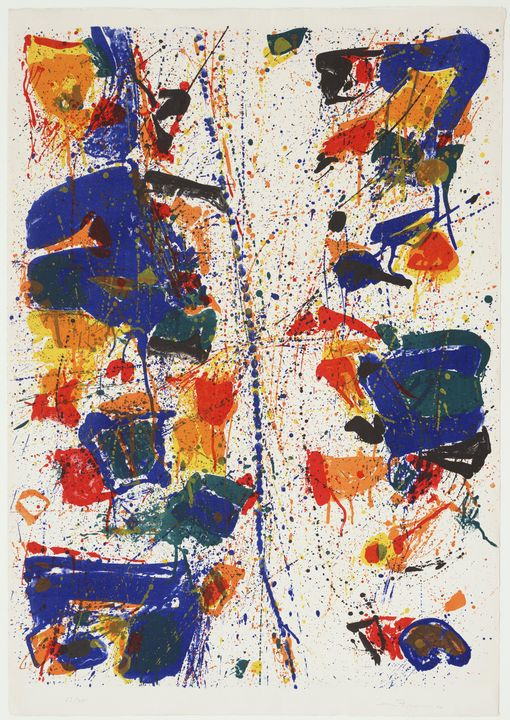 Sam Francis - The White Line - Windsor Gallery