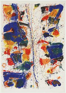 Sam Francis - The White Line