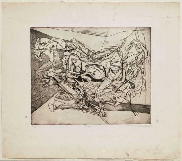 Stanley William Hayter - Combat - Windsor Gallery