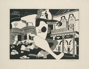 Stuart Davis - Theater on the Beach
