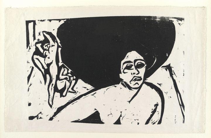 Ernst Ludwig Kirchner - Nude Dancers - Windsor Gallery