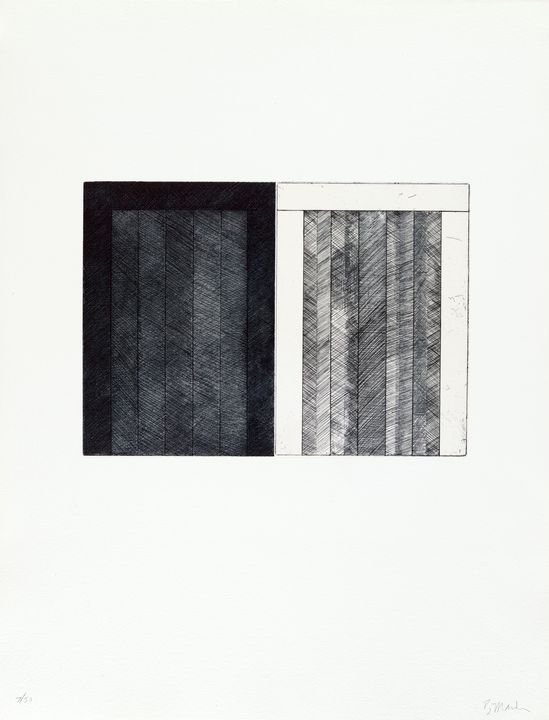 Brice Marden, Untitled from 12 Views - Windsor Gallery