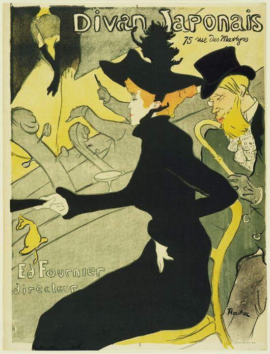 Henri de Toulouse-Lautrec - Divan... - Windsor Gallery