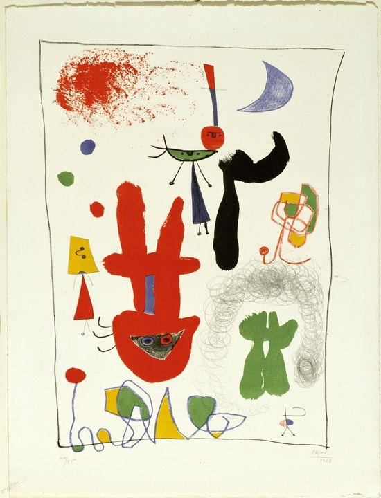 Joan Miró - Acrobats in the Night... - Windsor Gallery