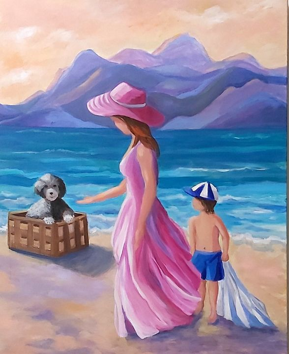 Where Did You Come From? - Painting is my Passion