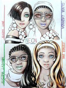 Neon sisters