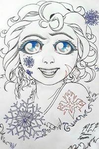 Snow Princess Anastasia