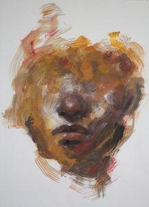Oil study portrait