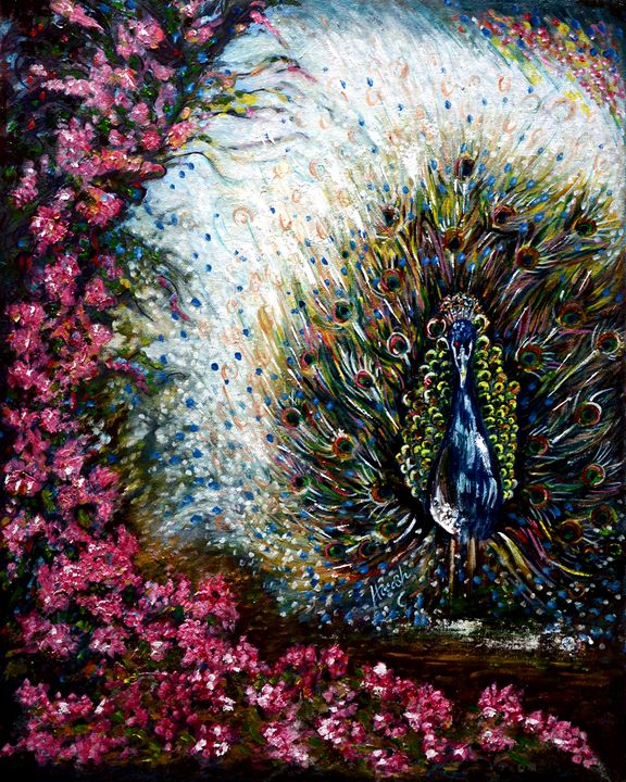 Dancing Peacock - Harsh Malik