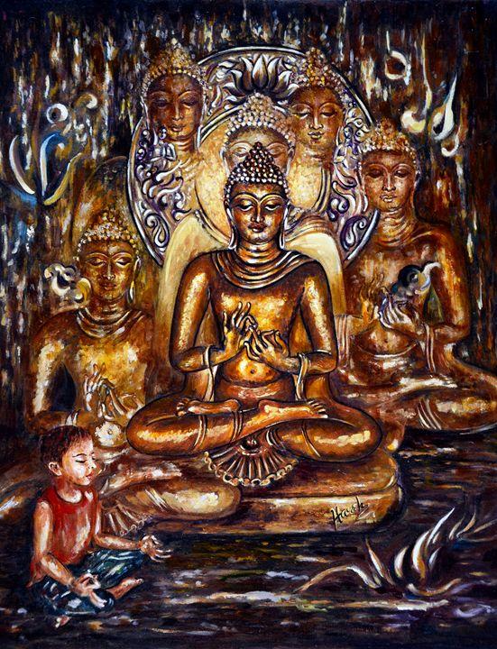 Buddha Reflections - Harsh Malik