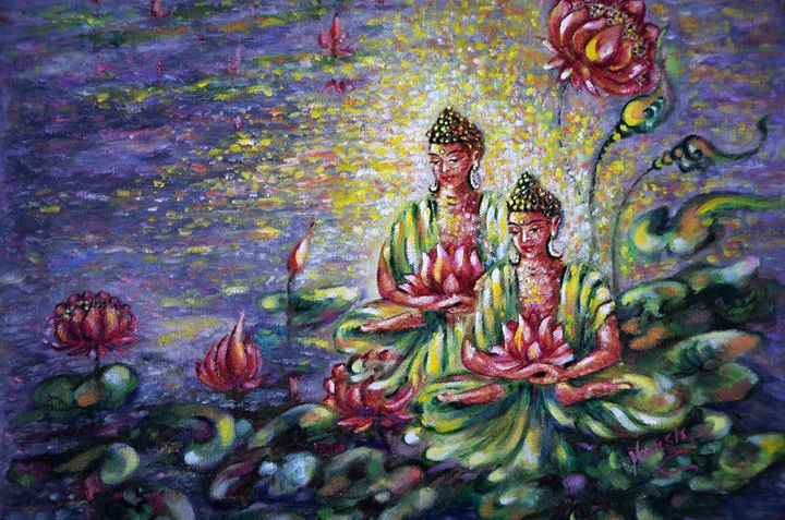 Buddha Lotus - Harsh Malik