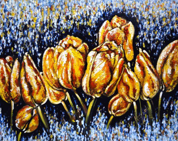 Golden Tulips - Harsh Malik
