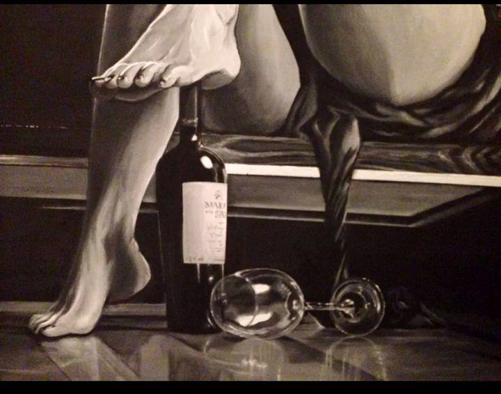 Tarde da noite - Matthew Trammel Art