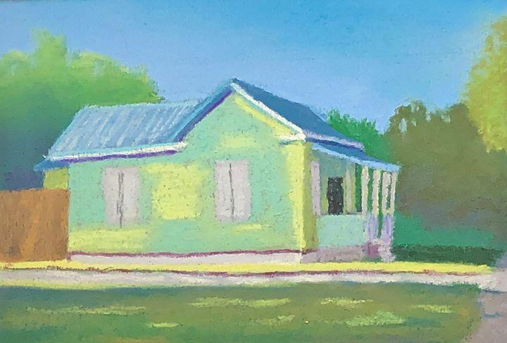 House on 27th street Version 2 - Howard Keith Clark