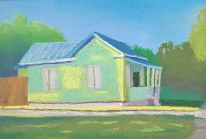 House on 27th street Version 2 - Howard Keith Clark