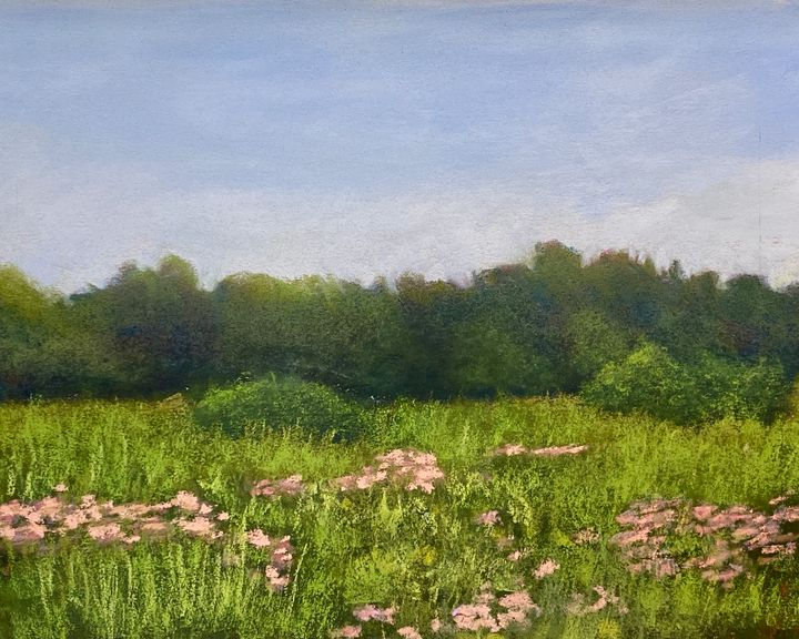 Pink Flowers - Howard Keith Clark
