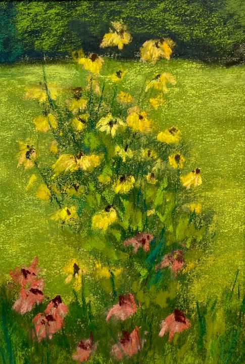 Yellow Flowers - Howard Keith Clark