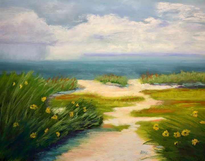 Rain Coming - Howard Keith Clark