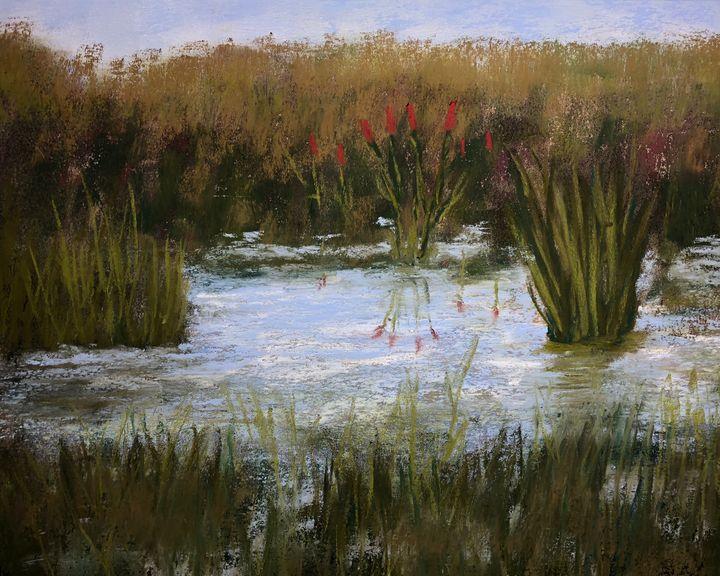 Marsh Reeds - Howard Keith Clark